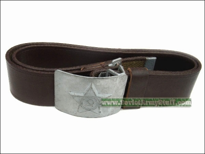 Soviet Army Uniform Belt with Star Buckle
