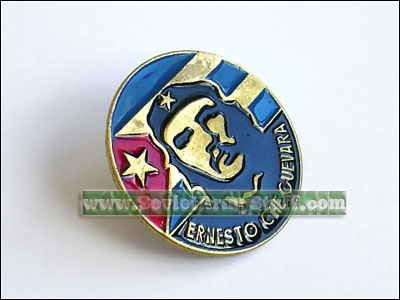 Ernesto Che Guevara Pin Badge
