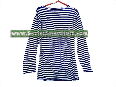 Russian Army Uniform Striped T-Shirt Telnyashka