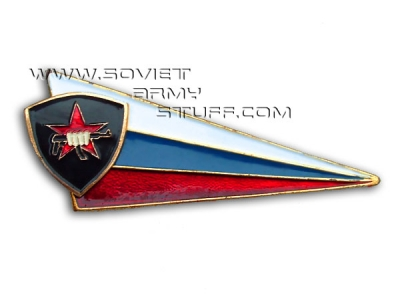 Russian Spetsnaz Beret Badge Fist & AK-47