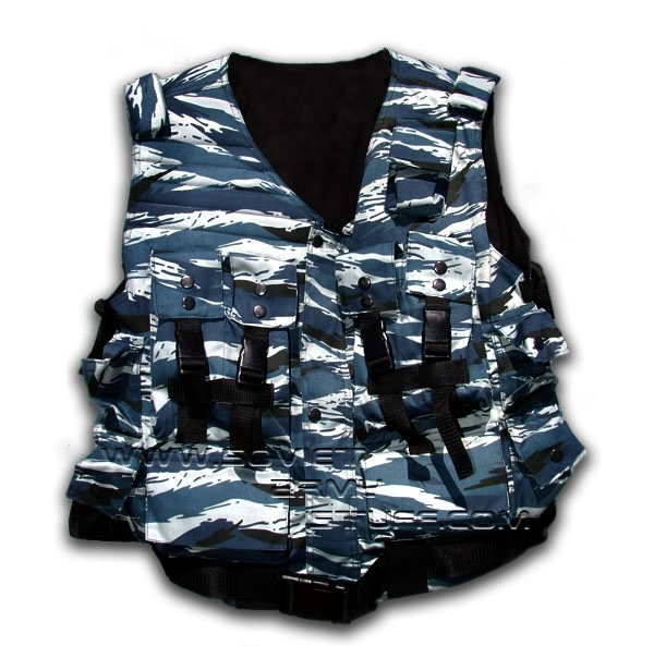 Russian Army OMON Spetsnaz Camo Assault Vest SHADOW Pattern