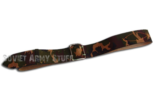Russian Army Military Officer Uniform CAMO Leather Belt