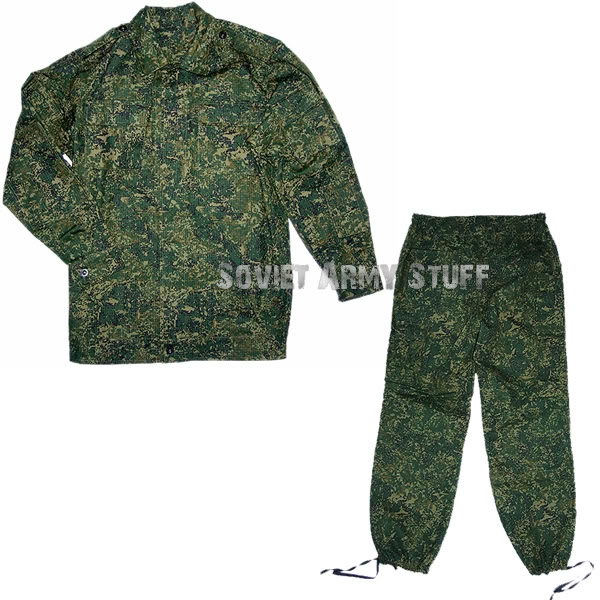Russian Army VDV Spetsnaz Camo Uniform Suit DIGITAL FLORA Pattern. Mabuta