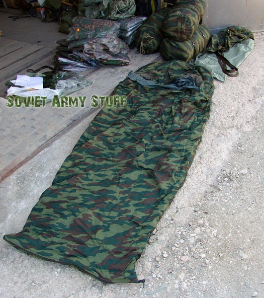 Genuine Russian Army Sleeping Bag Flora Camo