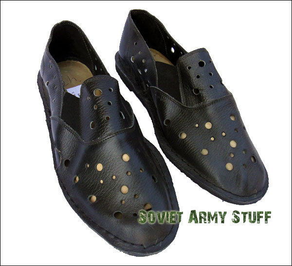 Russian Military NAVY NAVAL Ship Sailor Deck Leather Shoes Sneakers