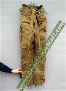 Russian Soviet Army Afghanistan War Winter Uniform Pants
