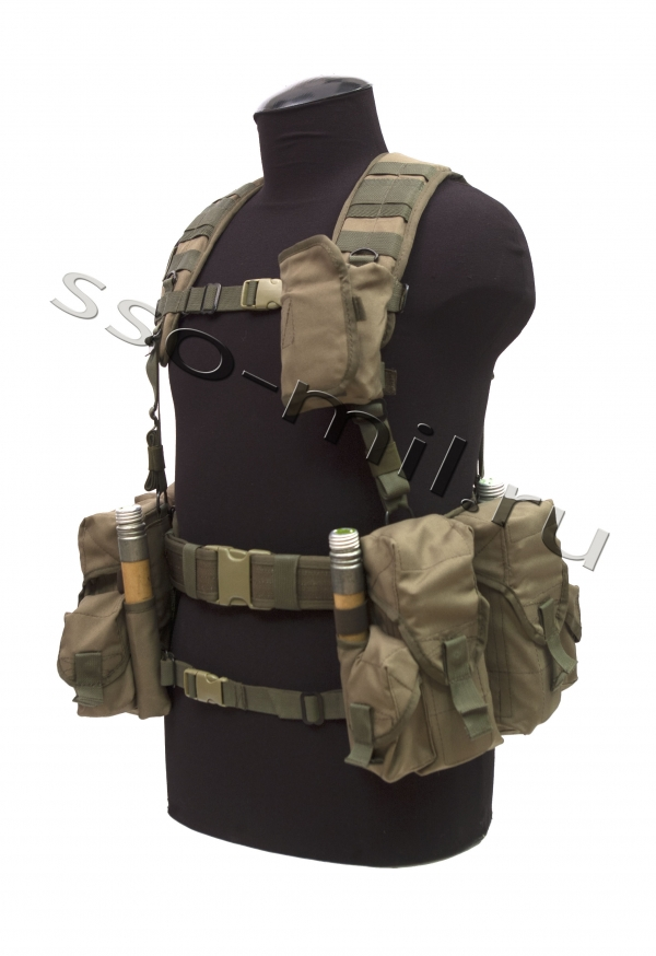 SPOSN's (SSO) SMERSH AK Chest Rig Set Assault Vest
