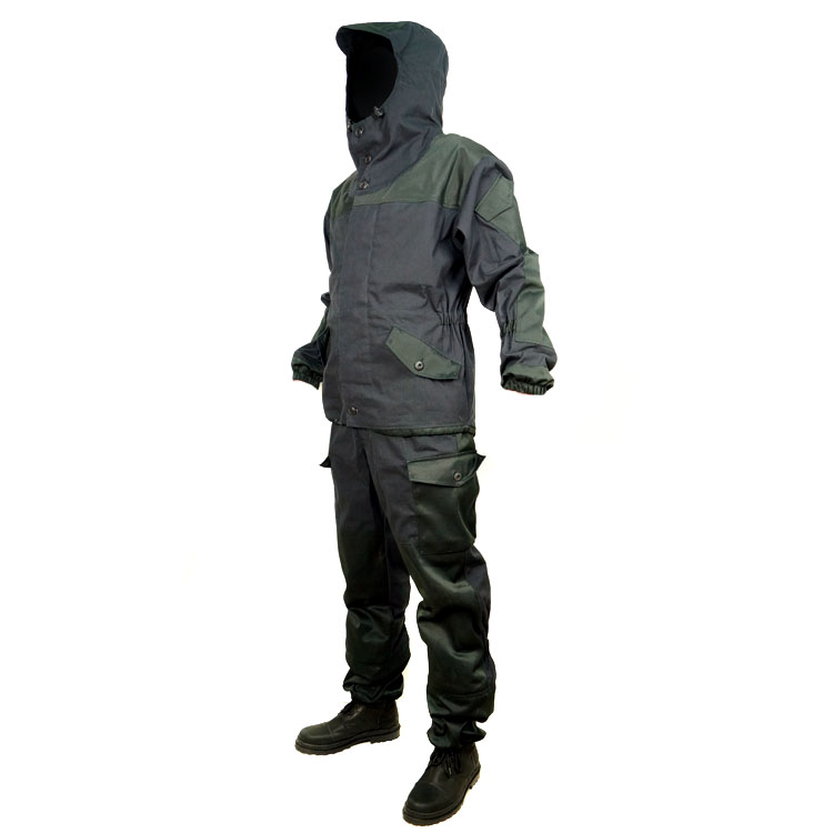 Russian Special Forces Mountain BDU Suit GORKA-3 Black