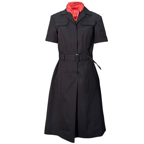 Russian Police Female Womens Uniform Summer Dress