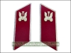 Soviet Army Automotive Troops Uniform Collar Tabs Red