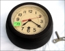 Soviet Navy Ship / Submarine Antimagnet Clock Black