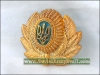 Ukrainian Army Uniform Hat Badge