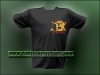 Russian Spetsnaz Embroidered T-Shirt Leopard
