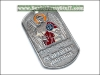 Russian Army Soldier Name Tag + Chain ST. ARCHANGEL MICHAEL