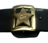 Soviet Army GENERAL UNIFORM LEATHER BELT WITH BUCKLE