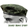 Russian Army Military Digital Flora Uniform Hat Beret with Badge