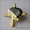 Russian Army Soldier of Fortune Black Beret Spetsnaz Pin Chest Badge