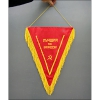 Genuine Soviet Communist Silk Flag Banner