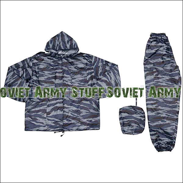 Wind & Waterproof Uniform Camo Suit Russian Army Shadow (Urban) Pattern camo cagoule