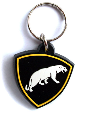 Russian Special Forces Spetsnaz Panther Key Chain Keychain Trinket Rubber