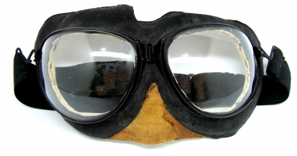 PO-1 Genuine Soviet Aviation Flight Goggles Glasses SPARE LENSES - NOT GOGGLES!