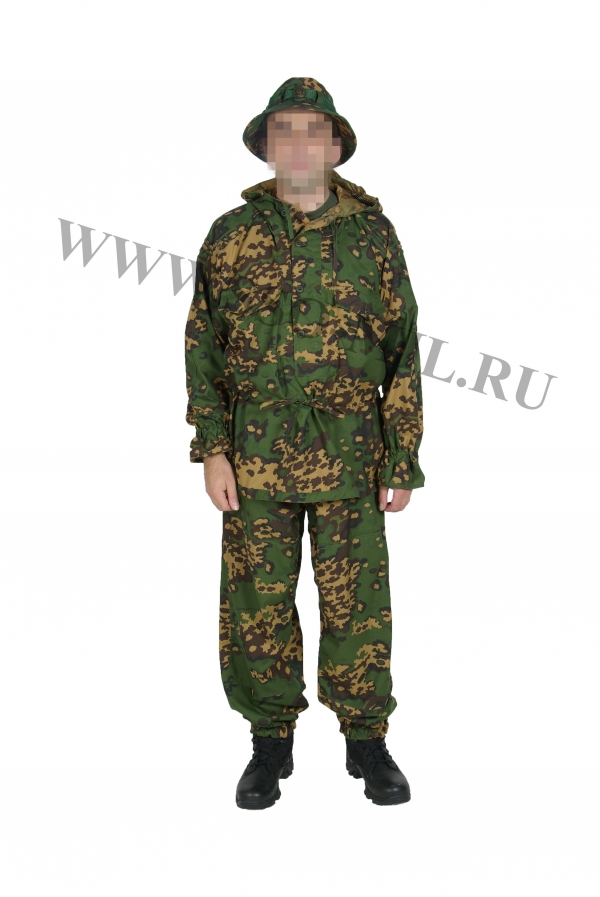 Russian Military SPOSN SSO Partizan Reversible Camo Suit